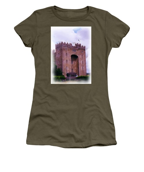 Bunratty Castle Painting Women's T-Shirt