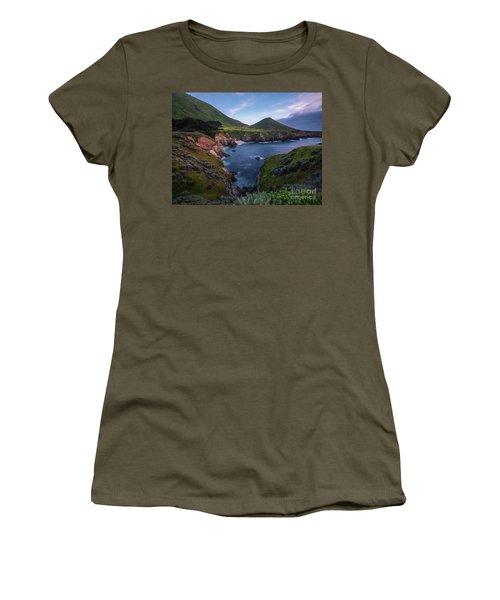 California Coastal Inlet Spring Women's T-Shirt