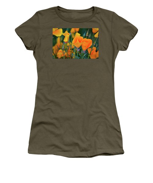 California Poppies Lake Elsinore Women's T-Shirt