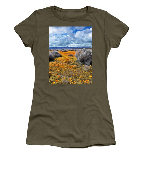 California Poppy Patch Women's T-Shirt