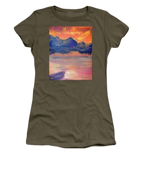 Canoe Trips Women's T-Shirt