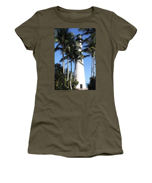 Cape Florida Lighthouse - Key Biscayne, Miami Women's T-Shirt