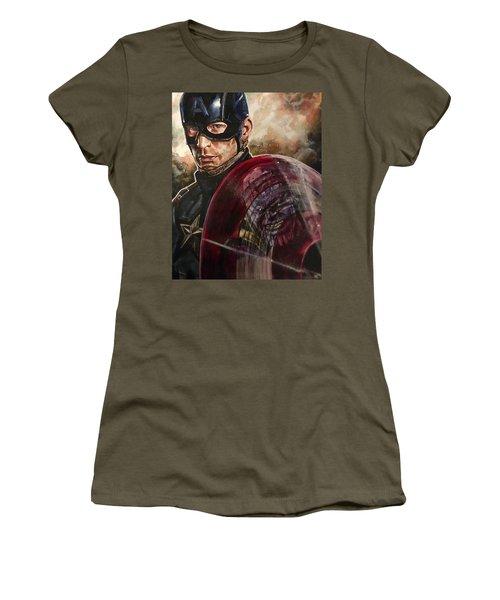 Captain America Women's T-Shirt