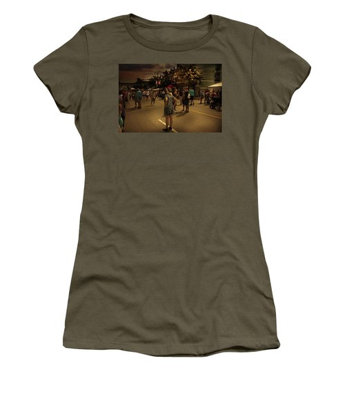 Women's T-Shirt featuring the photograph Car-free Day No. 7 by Juan Contreras