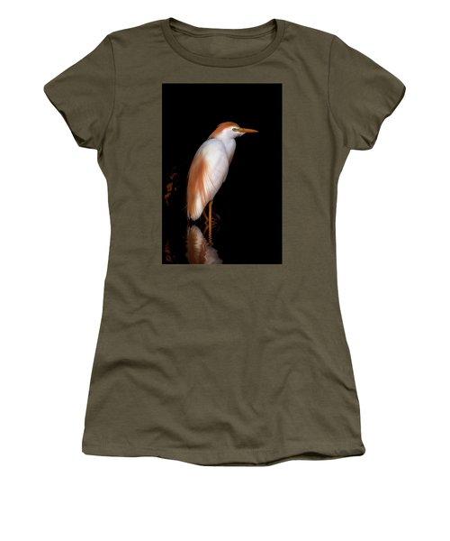 Cattle Egret Women's T-Shirt