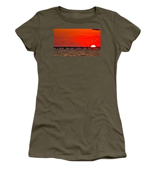 Causeway Sunset Women's T-Shirt