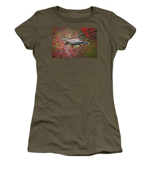 Cedar Waxwing 102206 Women's T-Shirt