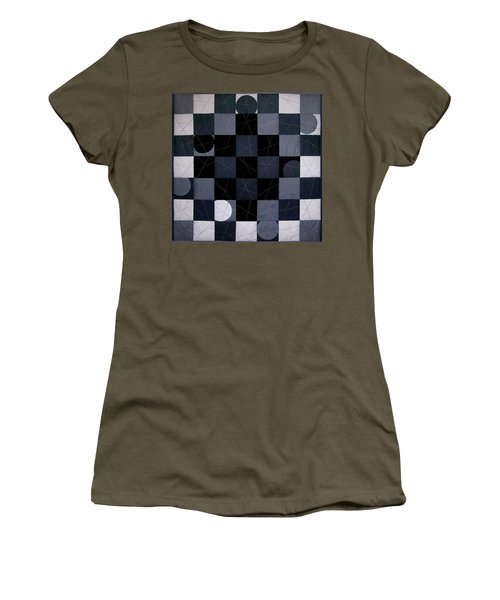 Checkers And Pick-up-sticks Women's T-Shirt