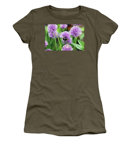 Chorley. Picnic In The Park. Bee In The Chives. Women's T-Shirt
