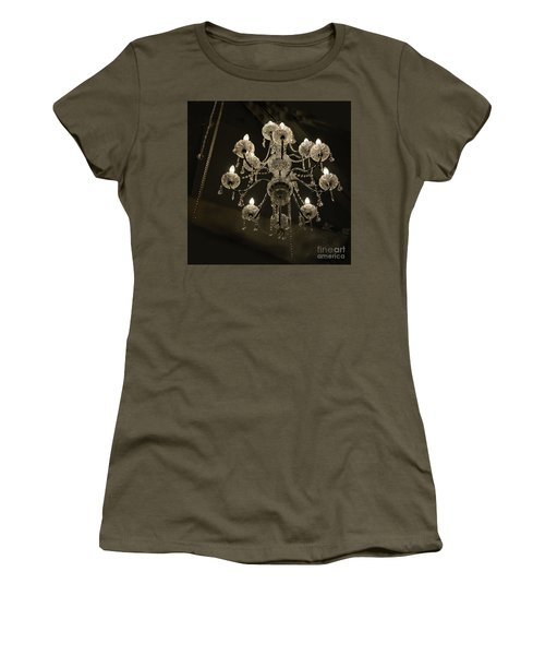 Chrystal Lights Women's T-Shirt