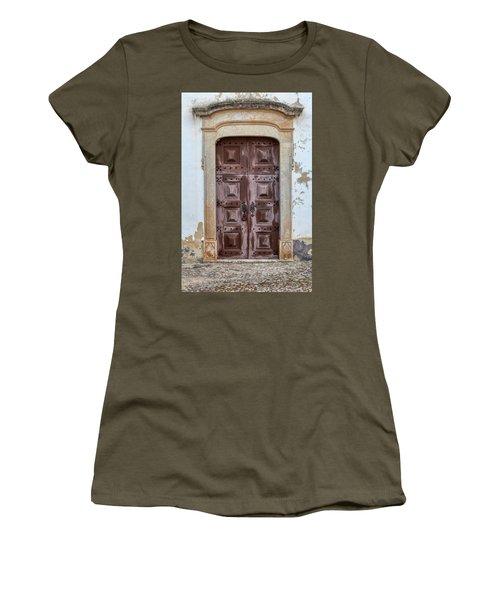 Church Door Of Obidos Women's T-Shirt