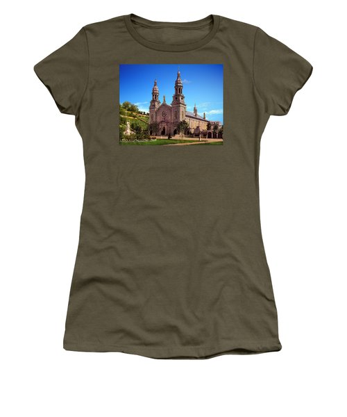 Church Of Ste Anne De Beaupre Women's T-Shirt