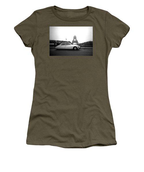 Women's T-Shirt featuring the photograph Citroen by Jim Mathis