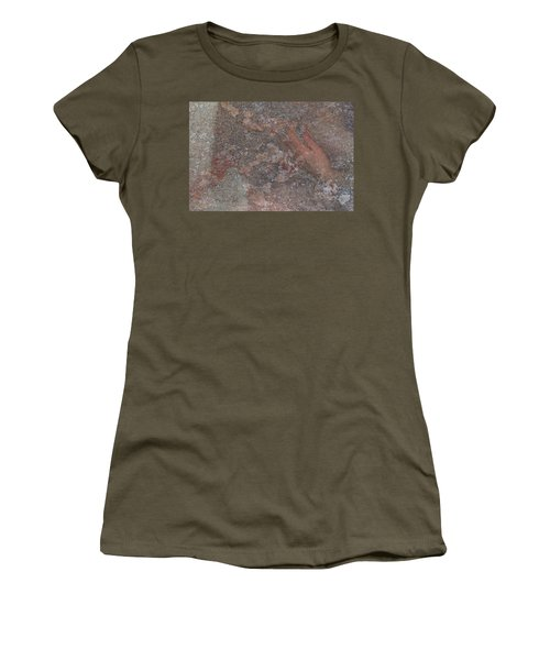 Women's T-Shirt featuring the digital art Classic Fragment by Attila Meszlenyi