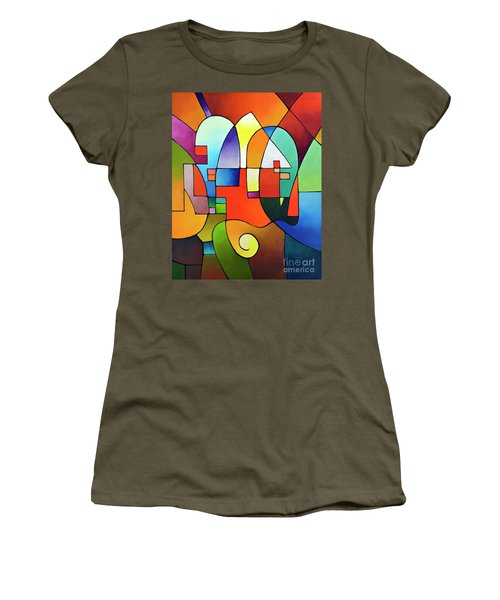 Clear Focus 2, Canvas Two Women's T-Shirt