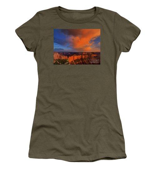 Clearing Storm Cape Royal North Rim Grand Canyon Np Arizona Women's T-Shirt