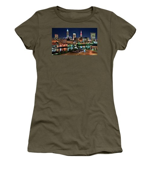 Cleveland Iconic Night Lights Women's T-Shirt
