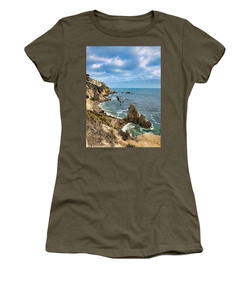 Cliffs Of Corona Del  Mar Women's T-Shirt