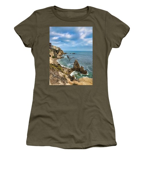 Cliffs Of Corona Del  Mar Women's T-Shirt