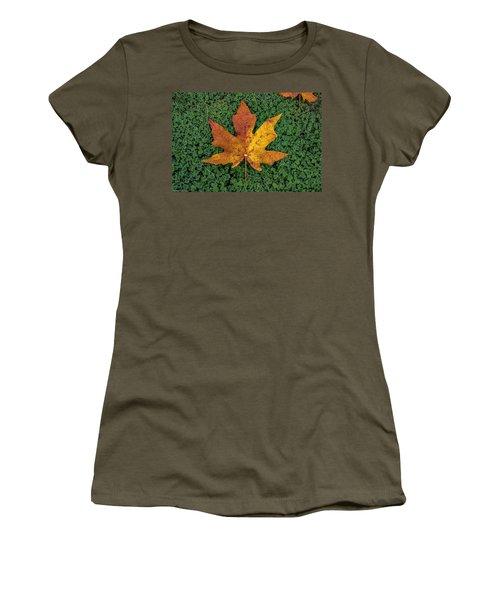 Clover Leaf Autumn Women's T-Shirt