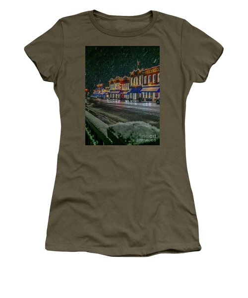Cold Night In Cripple Creek Women's T-Shirt