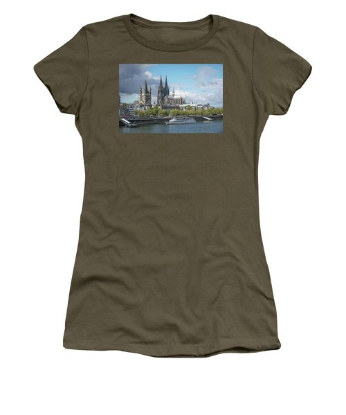 Women's T-Shirt featuring the photograph Cologne, Germany by Jim Mathis