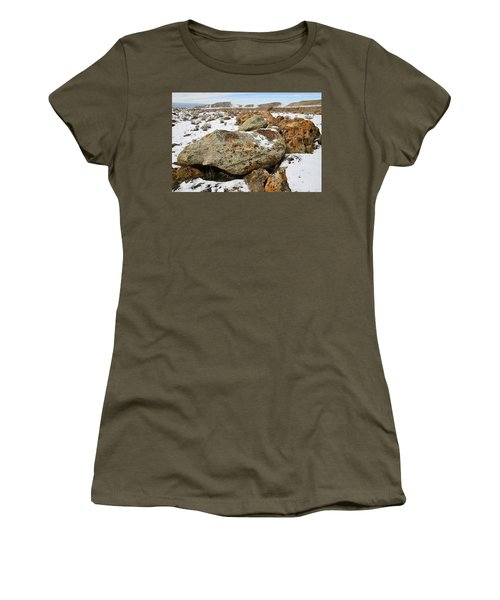 Color In The Book Cliff Desert Women's T-Shirt