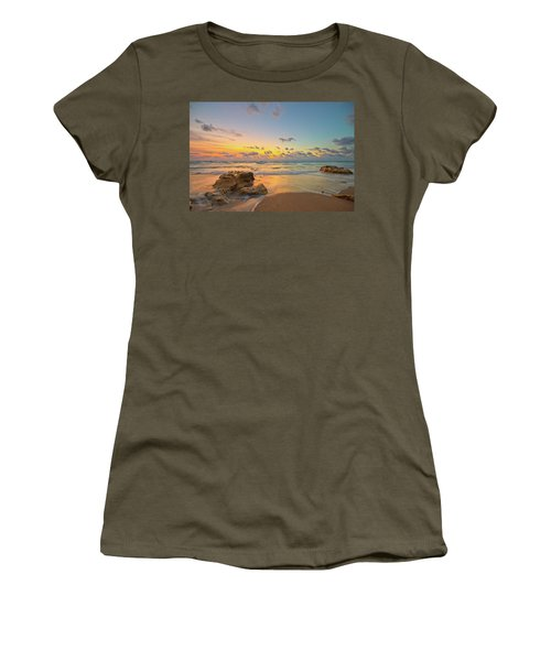 Colorful Seascape Women's T-Shirt