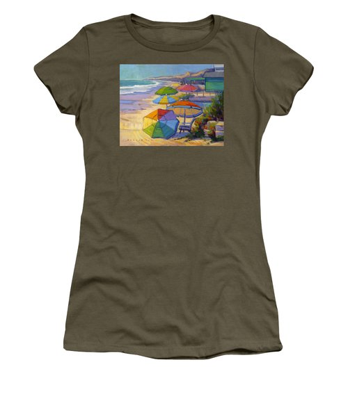 Colors Of Crystal Cove Women's T-Shirt