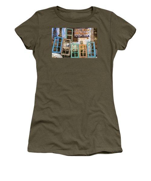 Colorful Window Frames Women's T-Shirt