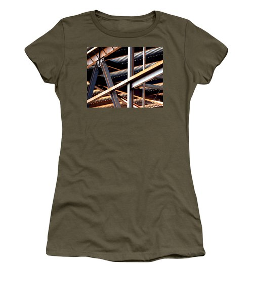 Construction Abstract Fragments Women's T-Shirt
