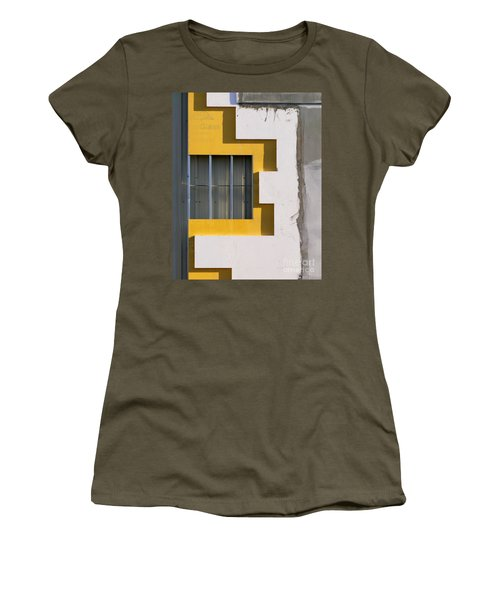 Construction Abstract Women's T-Shirt