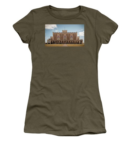 Women's T-Shirt featuring the photograph Convention Hall by Steve Stanger