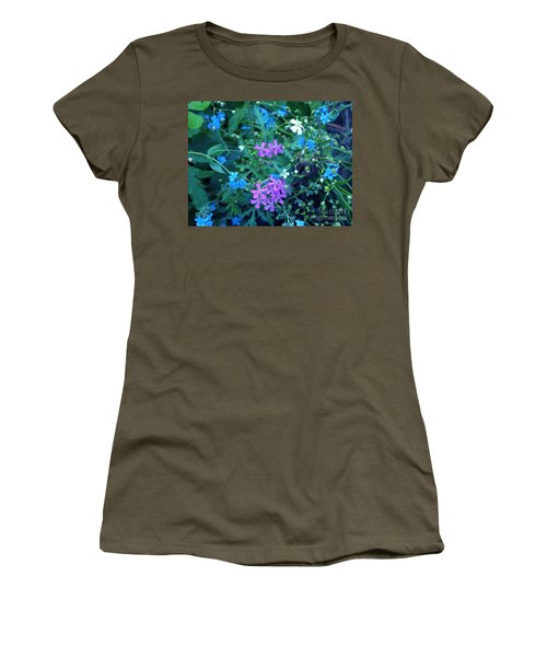 Women's T-Shirt featuring the photograph Cool Bouquet by Rosanne Licciardi