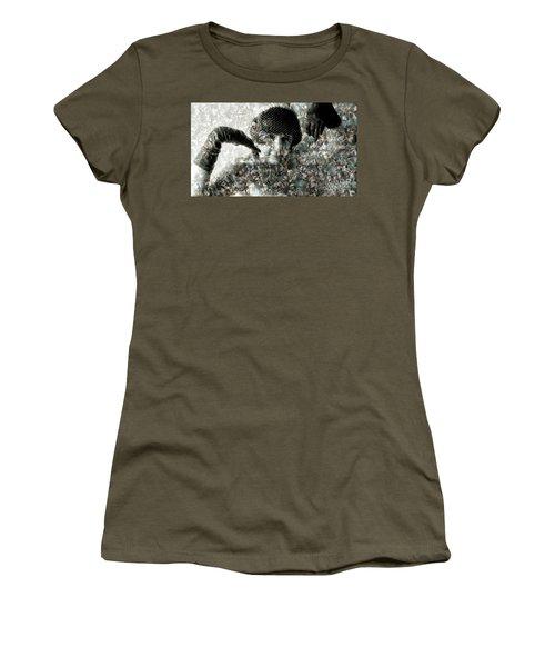 Cp In Black Gloves Women's T-Shirt