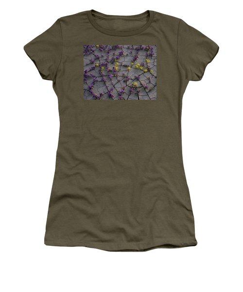Cracked Blossoms II Women's T-Shirt