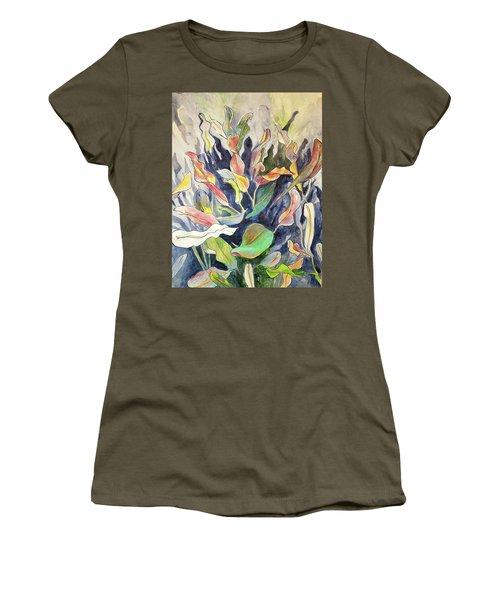 Croton Plant Women's T-Shirt