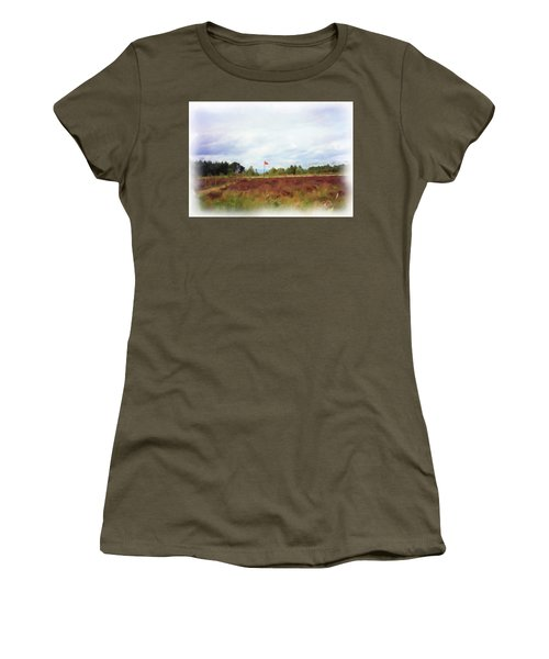Culloden Battlefield Painting Women's T-Shirt