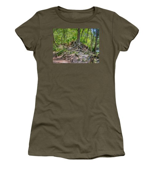 Cypress Roots Exposed Women's T-Shirt