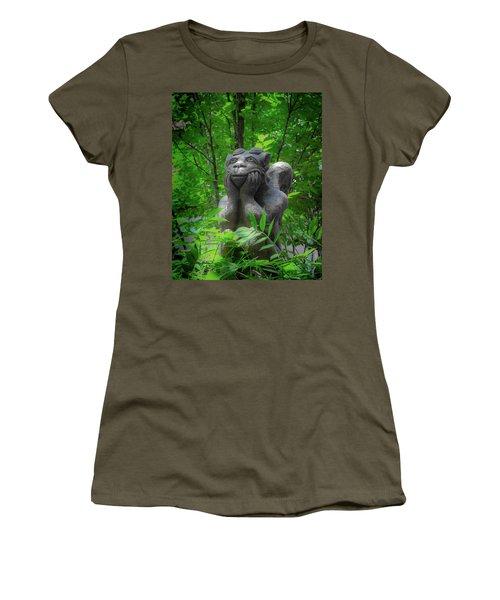 Daydreaming Gargoyle Women's T-Shirt