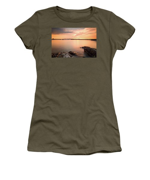 Women's T-Shirt featuring the photograph Days End Daydream  by Jeff Sinon