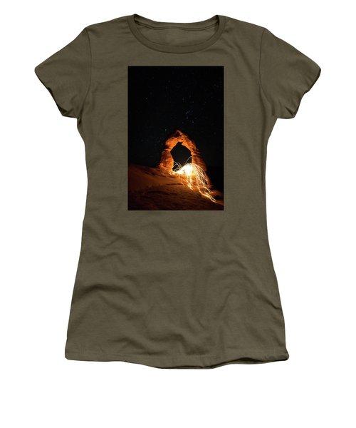 Delicate Arch Steel Wool Women's T-Shirt