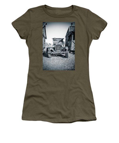 Depression Era Dust Bowl Car Women's T-Shirt