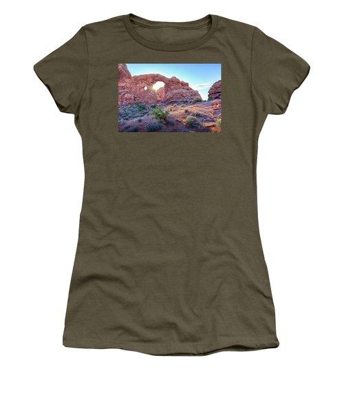Desert Sunset Arches National Park Women's T-Shirt