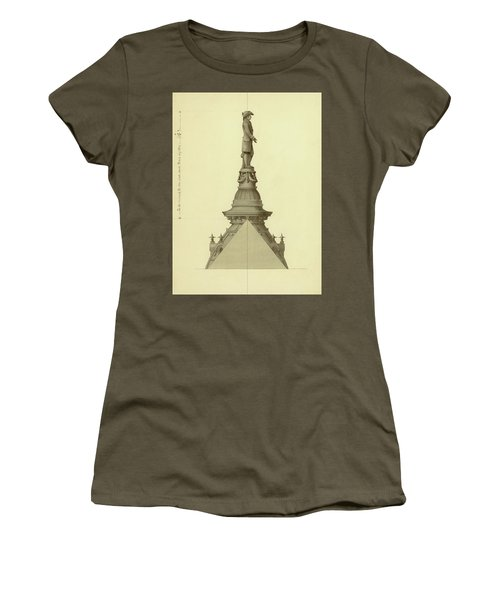 Design For City Hall Tower Women's T-Shirt