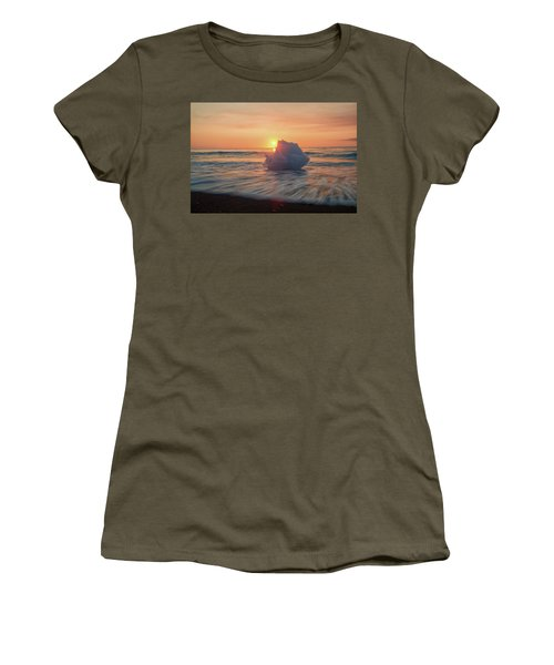 Diamond Beach Sunrise Iceland Women's T-Shirt