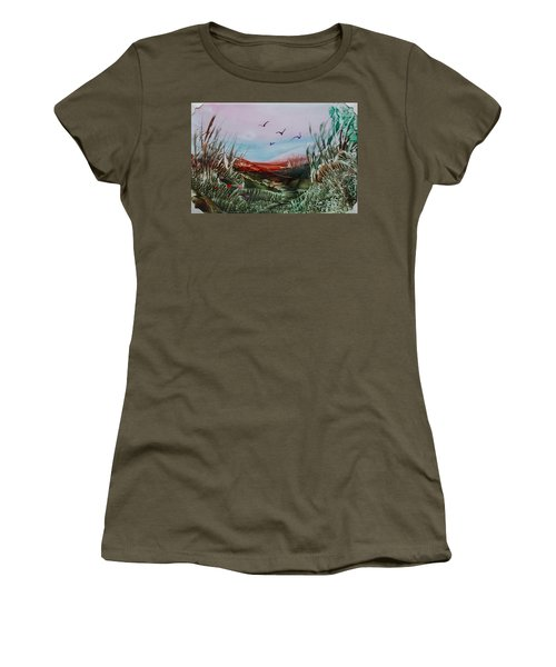 Disappearing Pathway Women's T-Shirt