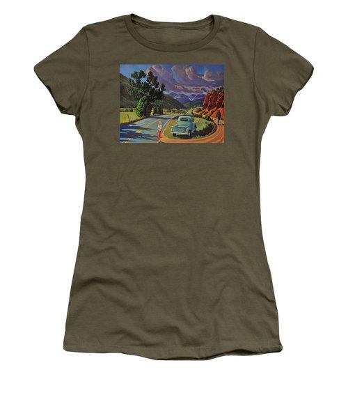 Divergent Paths Women's T-Shirt