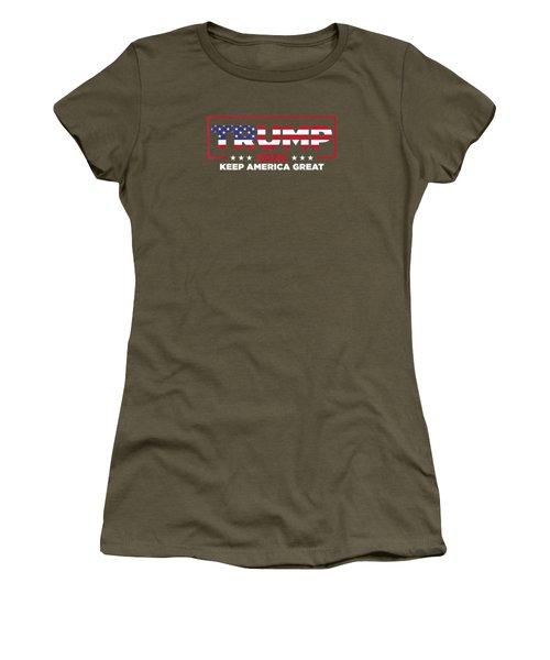 Donald Trump 2020 Election Keep America Great Gop T-shirt Women's T-Shirt