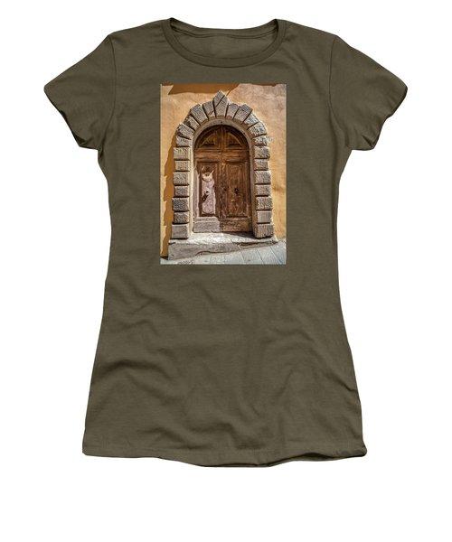Door Thirty Two Of Tuscany Women's T-Shirt